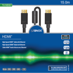 Sinox Plus HDMI kabel V2.0b  4K/UHD 60 Hz  15 mtr.