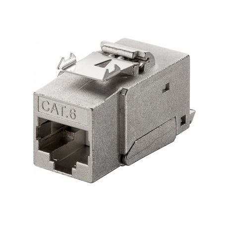 CAT6 STP Keystone Connector - Toolless