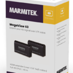Marmitek MegaView 63 HDMI extender | over 1 CAT5e/6 cable | Full HD | PoC | 40 m