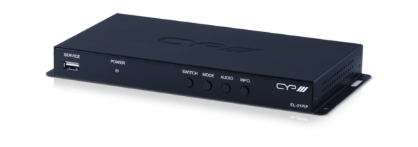 CYP 2 in 1 uit HDMI switcher (Picture in Picture)